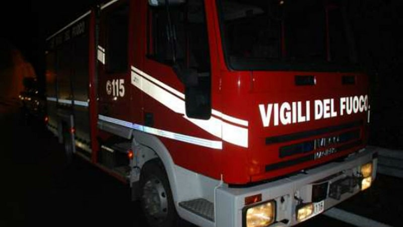 macelleria in fiamme