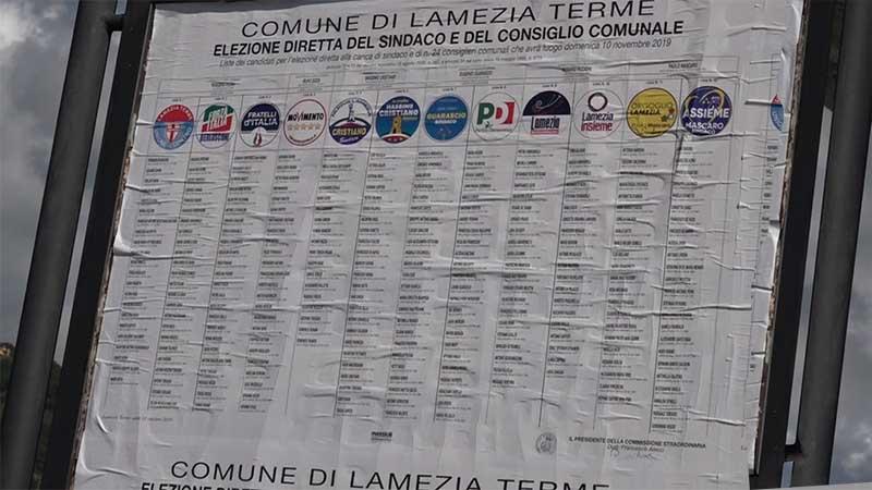 Liste elezioni Lamezia
