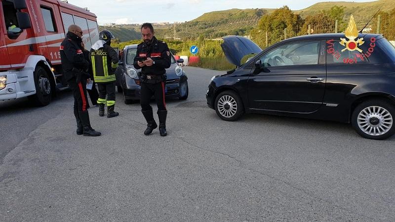 Scontro tra due auto nel Catanzarese