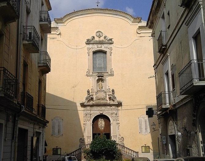 La chiesa del monte di Catanzaro