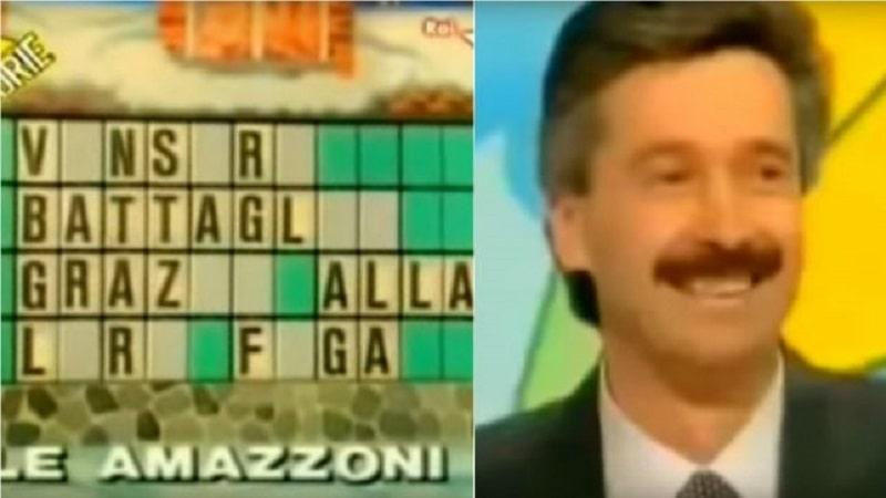 ruota della fortuna, giancarlo non si pente: «f..a per me è la risposta giusta» -video-