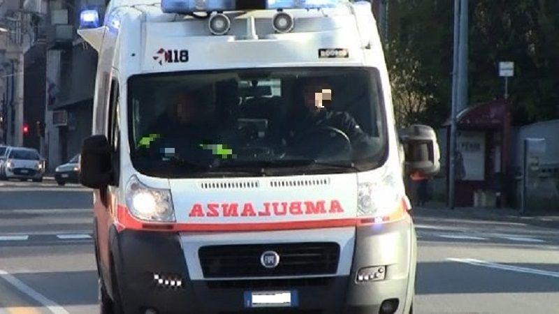 ambulanza in azione