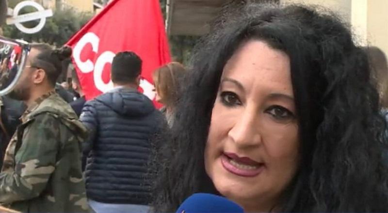 sciopero lavoratori davanti sede inps cosenza per appalto