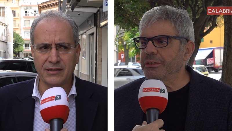 Mascaro e Pegna, i due candidatio che andranno al ballottaggio a Lamezia