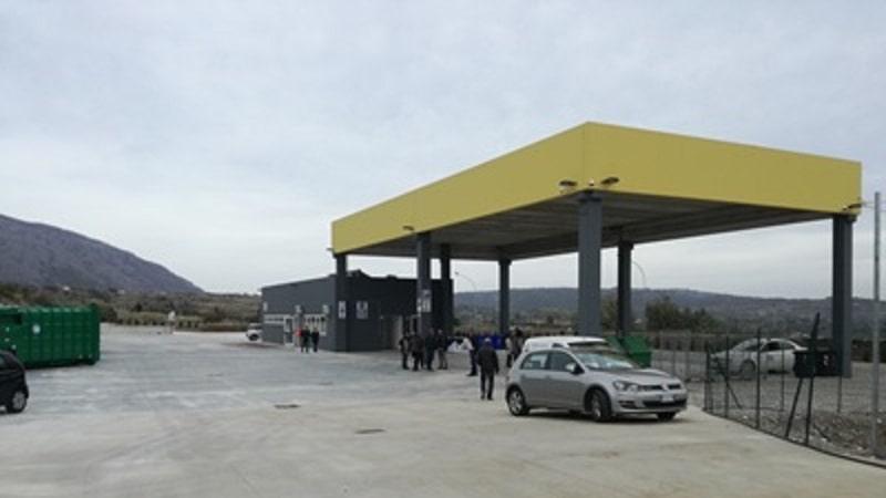 Rifiuti, a Castrovillari inaugurata nuova isola ecologica - Calabria 7