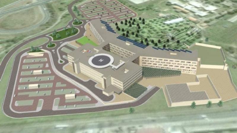 Costruzione due nuovi ospedali