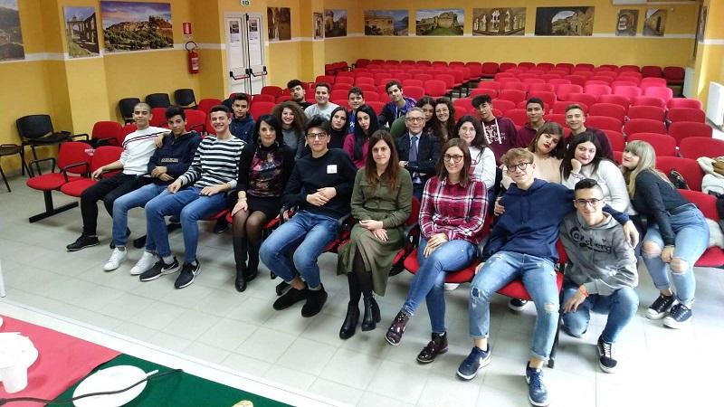 Gli studenti Polo tecnico di LT