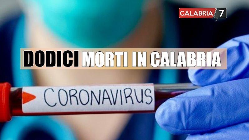 calabria coronavirus