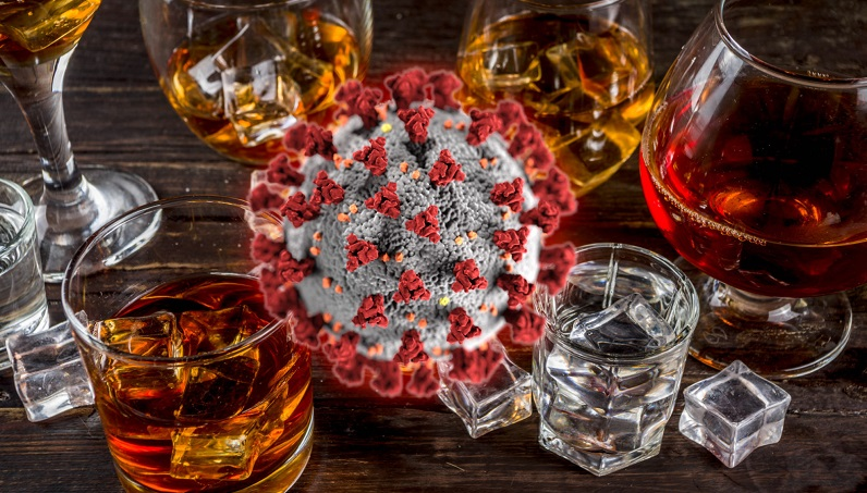 alcol coronavirus covid