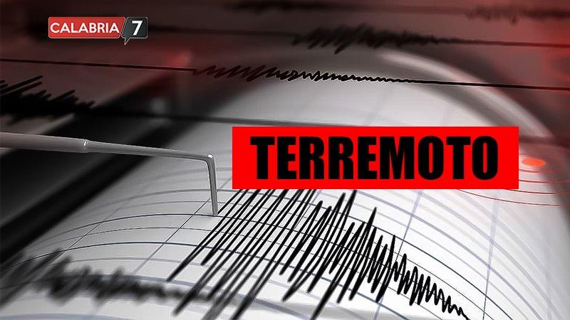 Terremoto Mar Ionio Meridionale