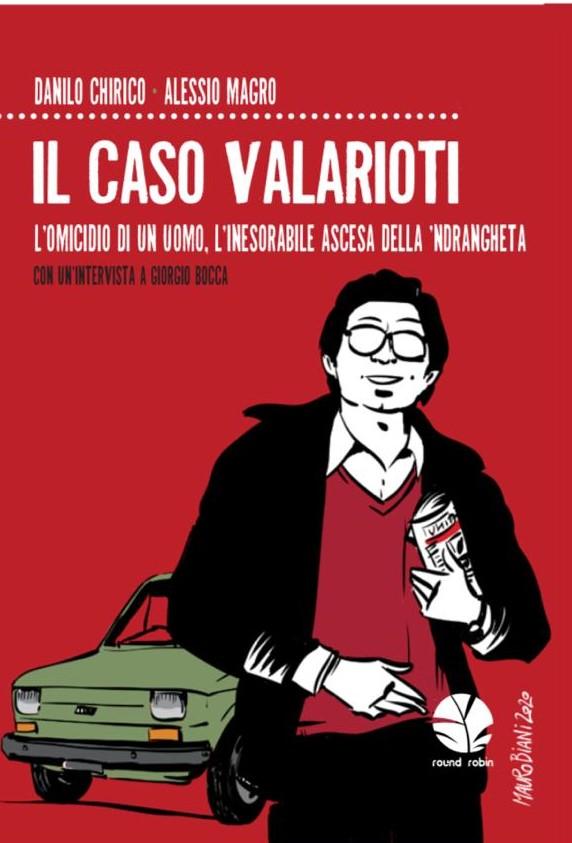 copertina del libro dedicato al caso Valarioti