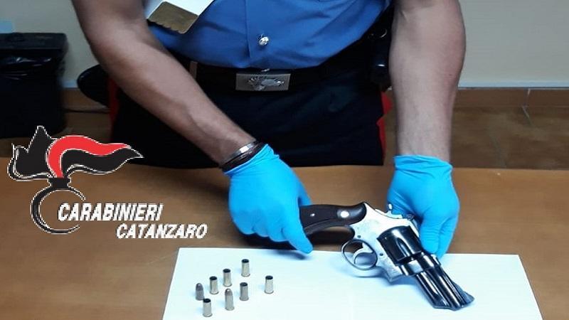 Materiale sequestrato armi