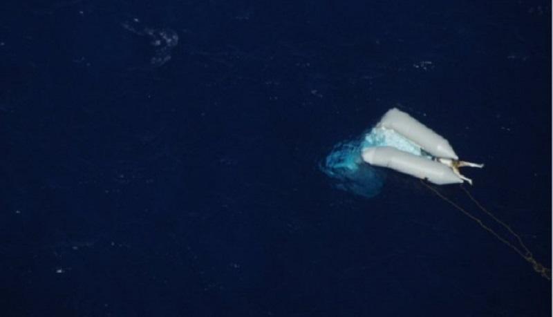 migrante in mare