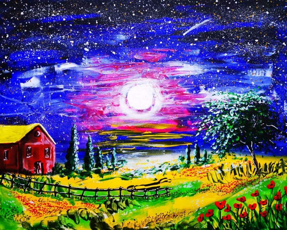 """L'arte del """"Signor Black"""": quando la pittura nasce nei sogni"""
