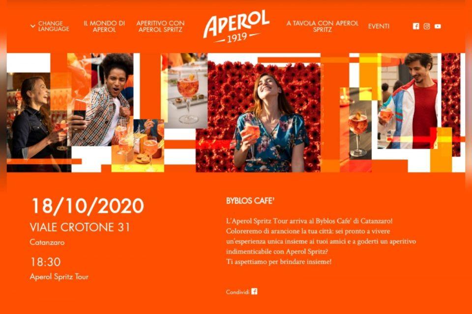 Aperol Spritz tour Byblos Café