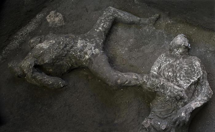 corpi pompei
